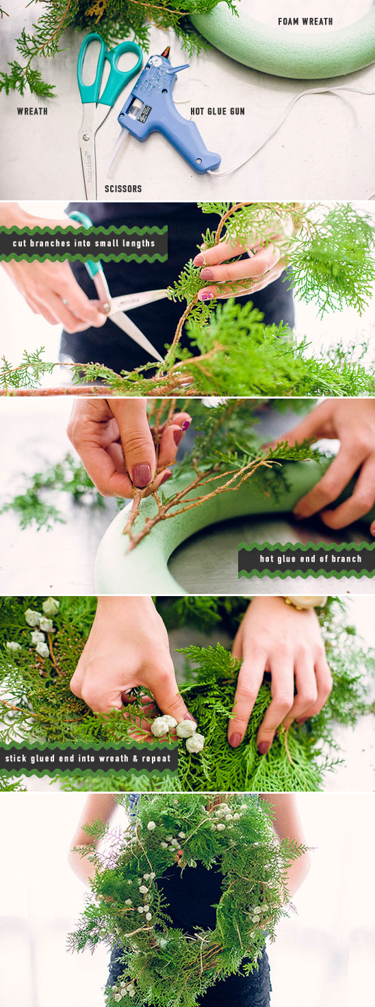 make your own wreath