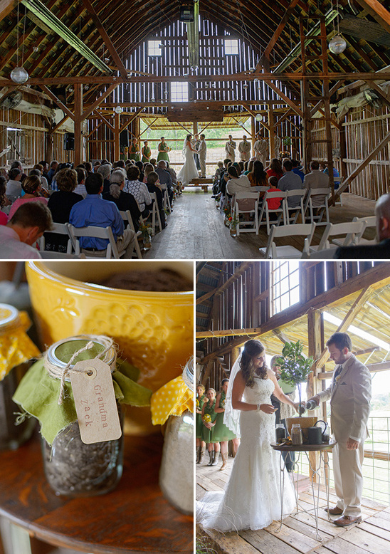 unity plant wedding ceremony