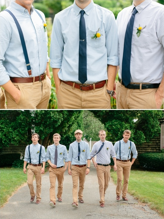 relaxed groomsman outfits