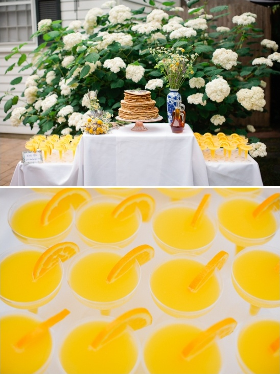 breakfast at your wedding