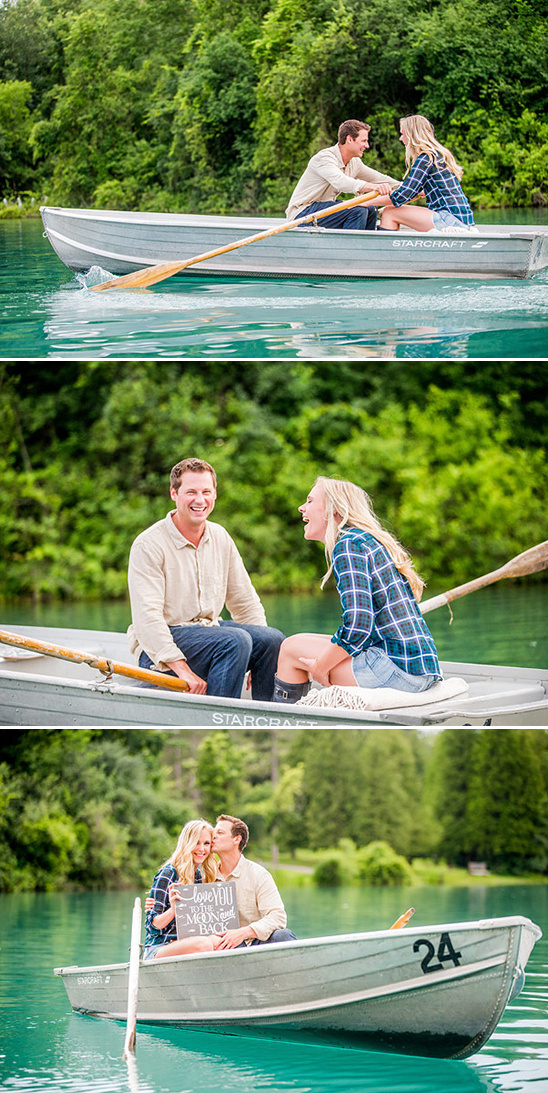 engagement boat ride
