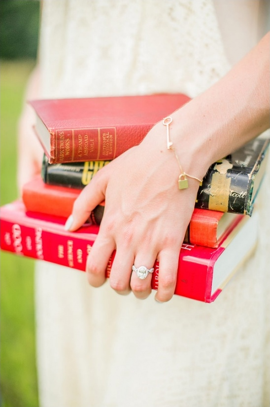 ring by orrs jewelers and bracelet by modcloth
