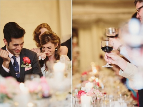 toast at wedding