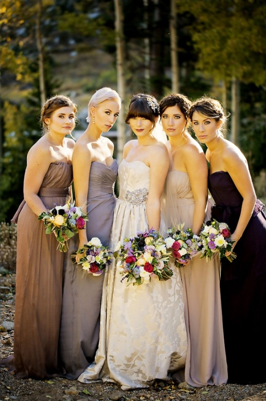 romantic bridesmaid ideas