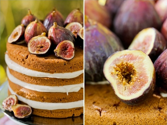figs as cake topper