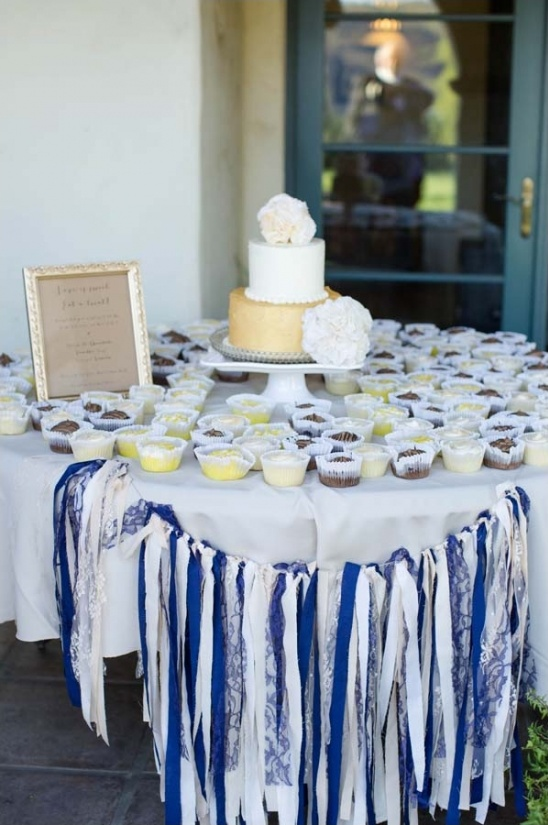 sweet treat cake table