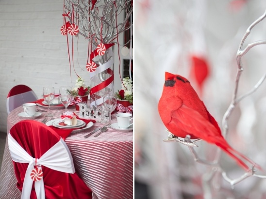 holiday wedding decor ideas