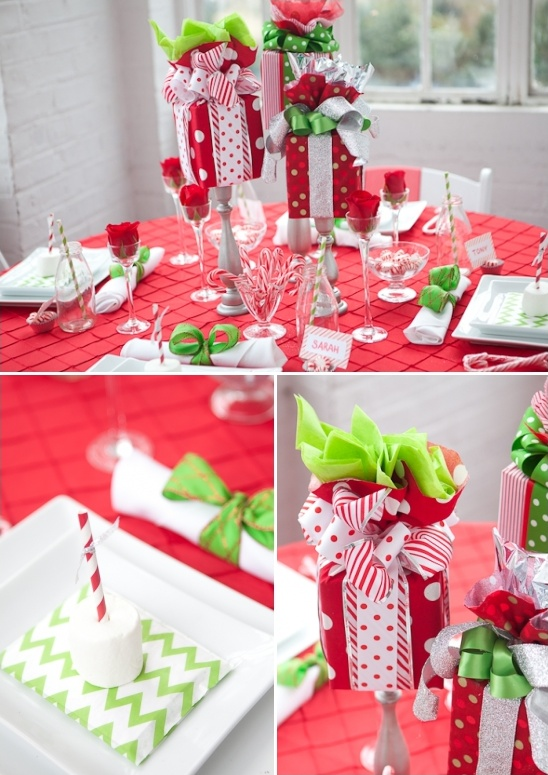 christmas holiday table decor ideas