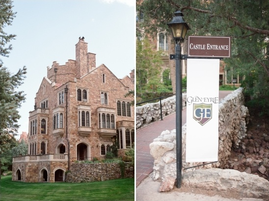 Colorado Wedding At Glen Eyrie Castle