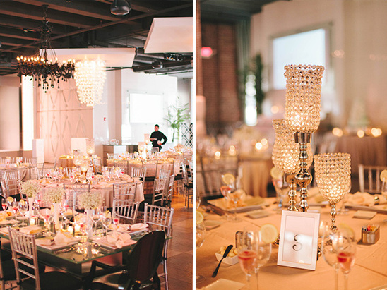 glamorous table centerpieces