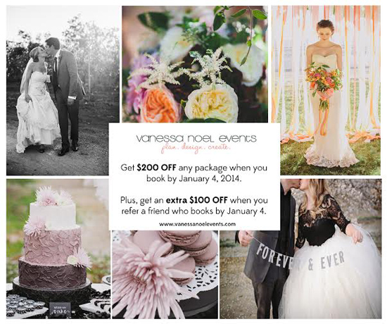 Save up to $300 on Wedding Planning