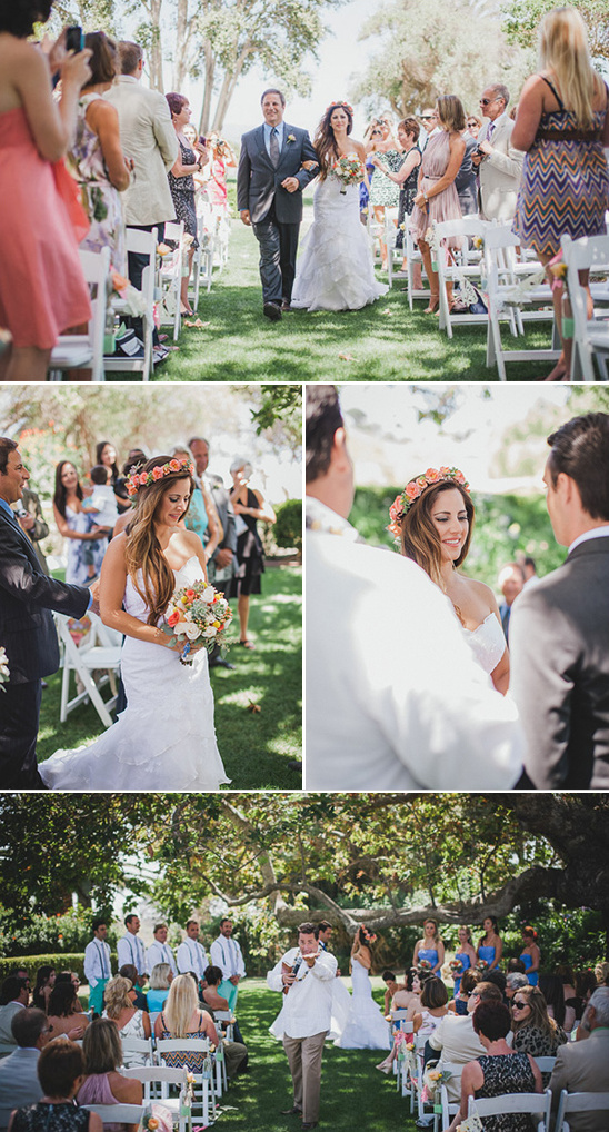 Malibu wedding ceremony