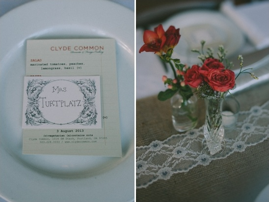 cylde common wedding menu