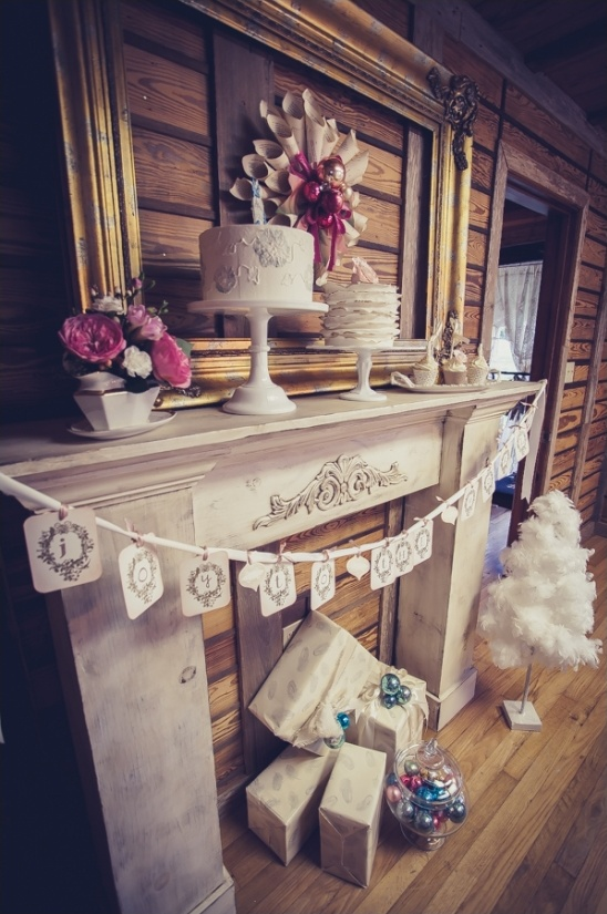 joy to the world fireplace banner