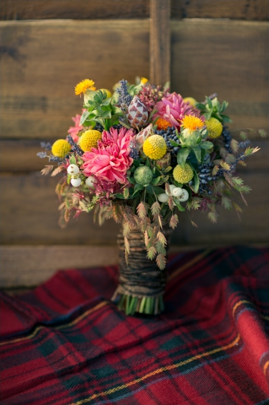 fall bouquet by lush florals and events