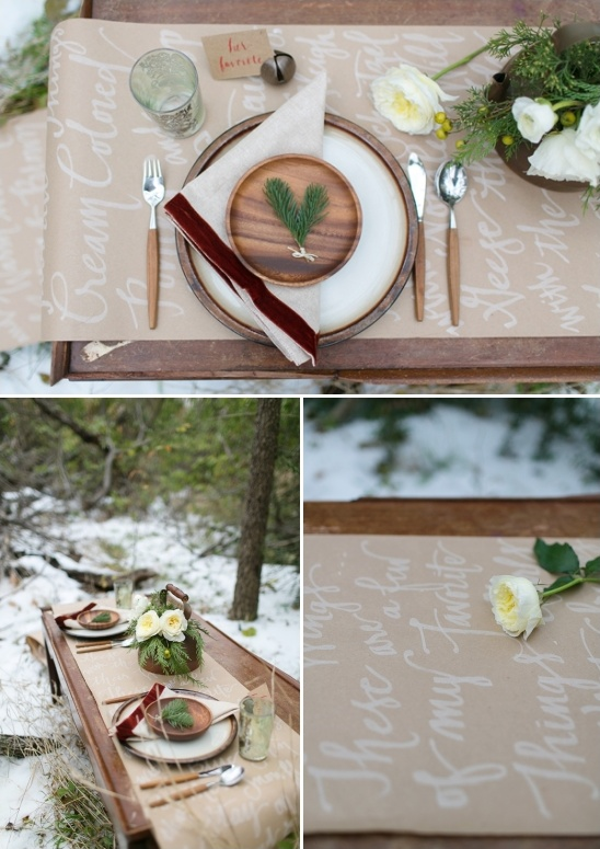 favorite things winter table setting