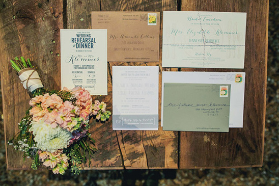 custom designed wedding stationery