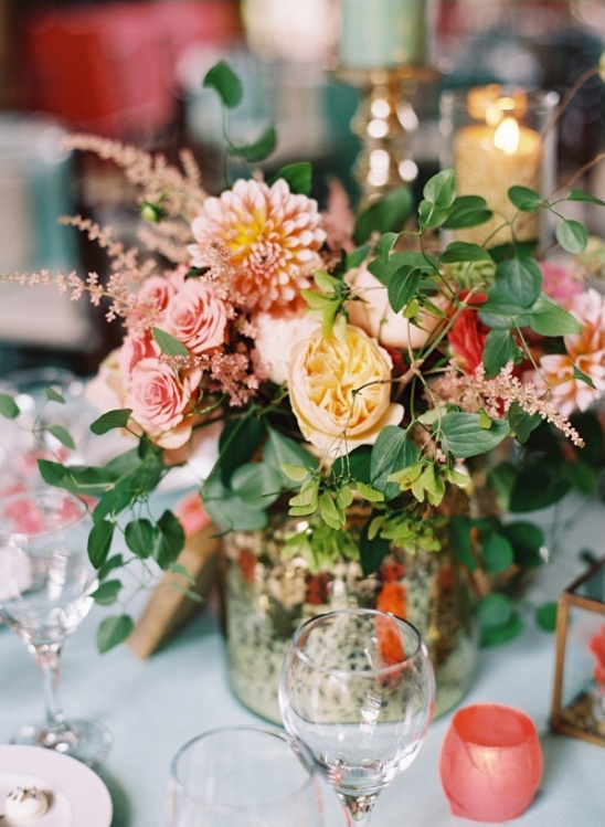 peach and gold wedding ideas