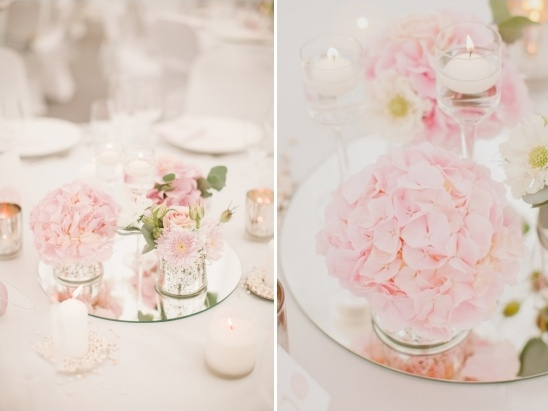 mirrors used in wedding decor