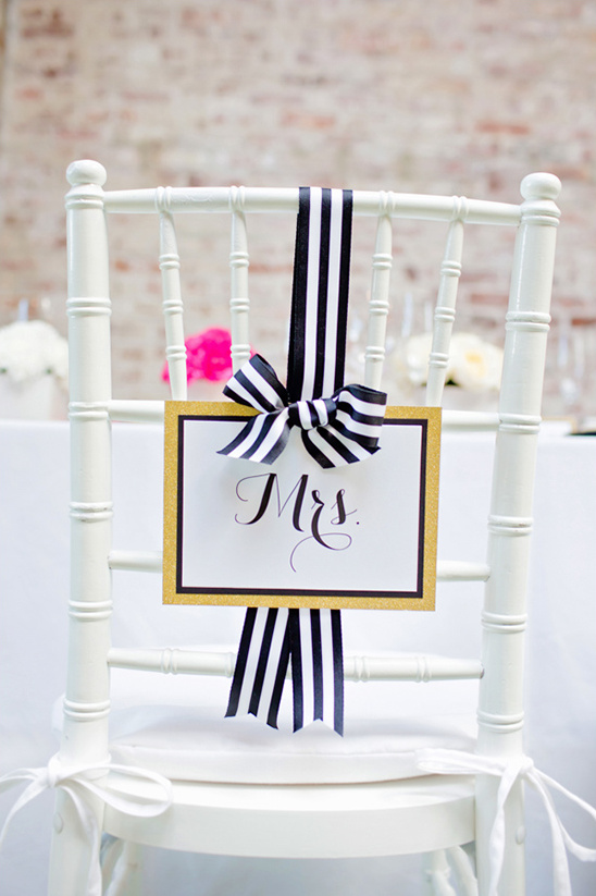 mrs wedding seating sign