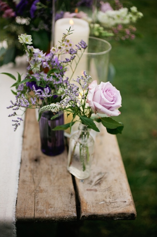 simple and elegant floral decor
