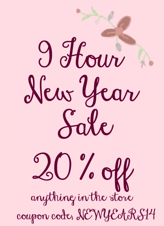 9 hours New Years Sale on Everything