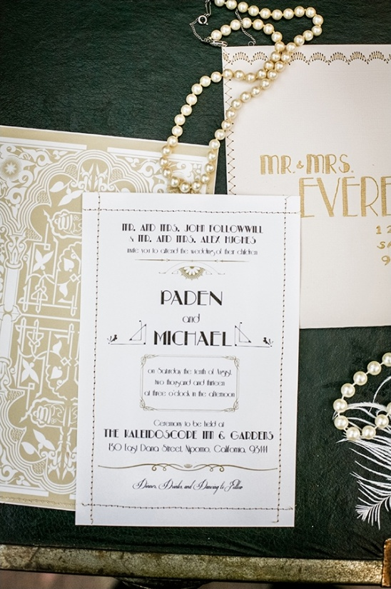 roaring twenties wedding ideas