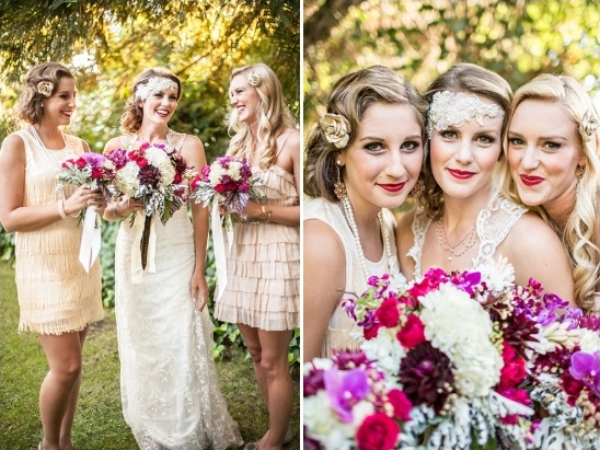 vintage bridesmaid looks