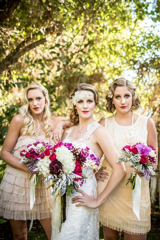 roaring twenties bridal ideas