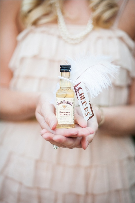 jack daniels wedding favor