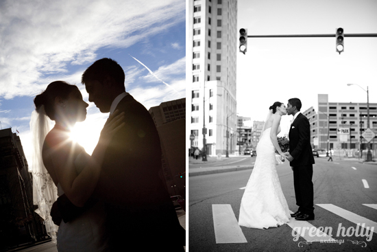 Downtown Detroit Michigan Wedding