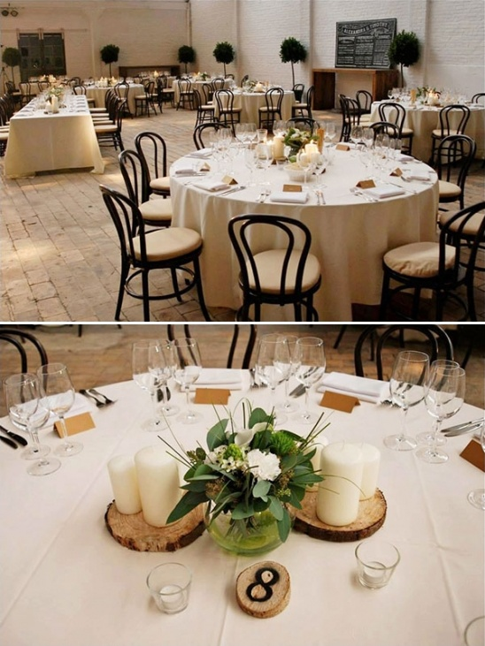 wooden table number ideas