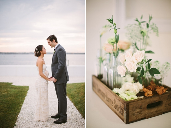 Modern Newport Rhode Island Wedding at Belle Mer - Cmostr Photography