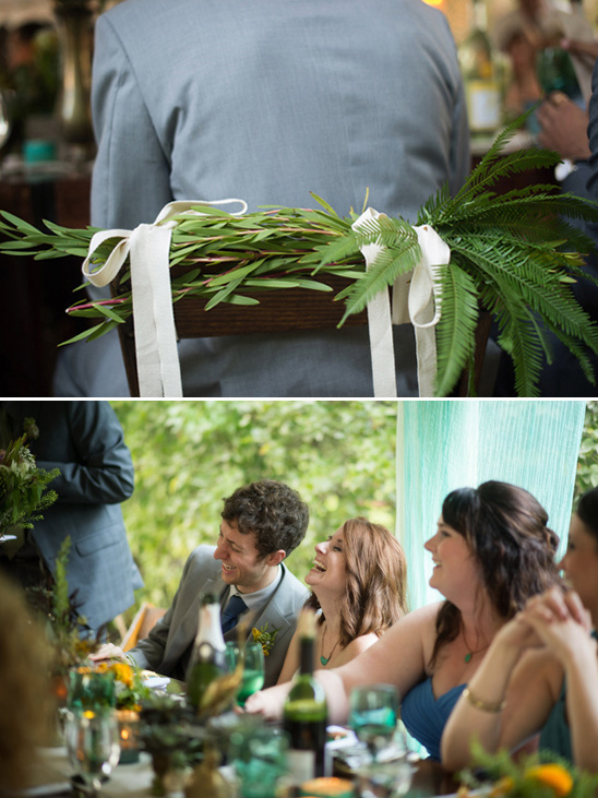 bride and groom chair decoration ideas