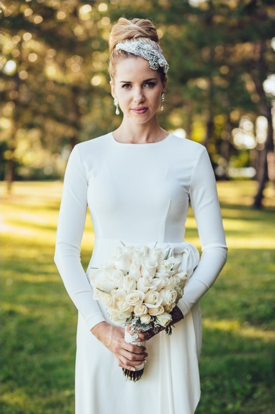 Rosa Clara long sleeve wedding dress