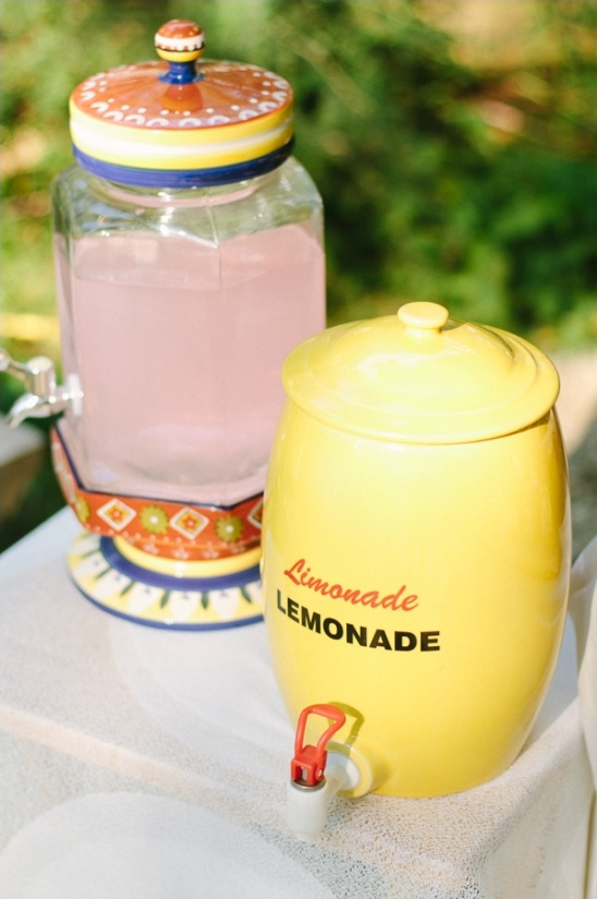 vintage lemonade containers