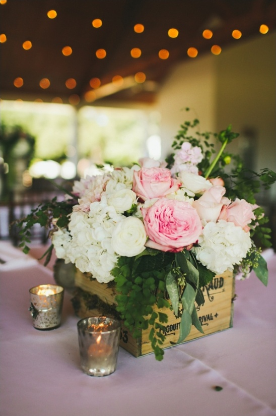 floral wedding box