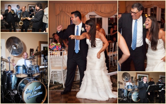 Surprise Performance At Traditional New England Wedding