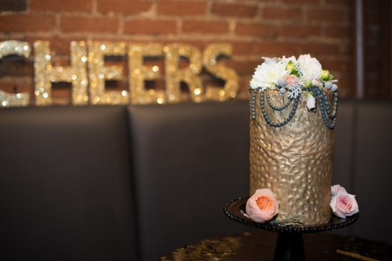 Gold and Black Shimmery Wedding Ideas
