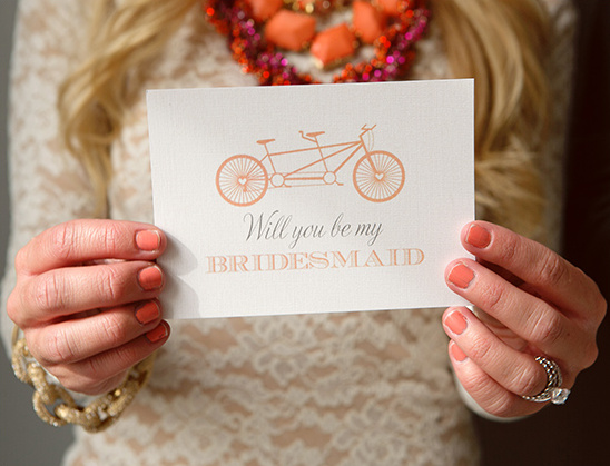 Free Will You Be My Bridesmaid Cards