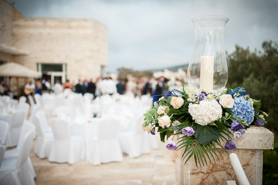 Navy Blue and Ivory Destination Wedding in Malta