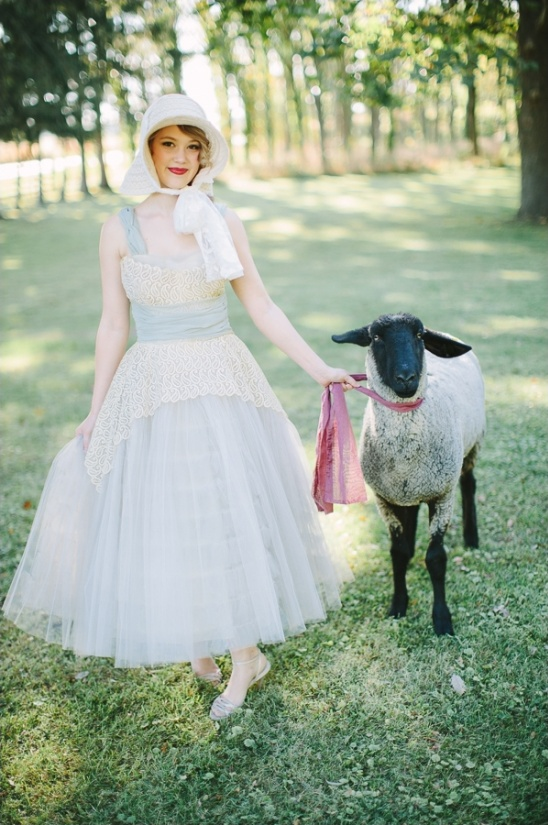 little bo peep with her sheep
