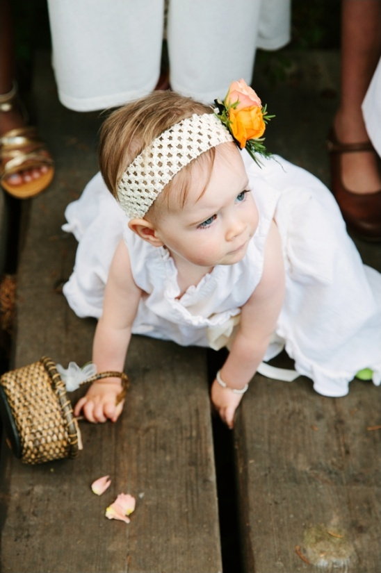 littlest flower girl