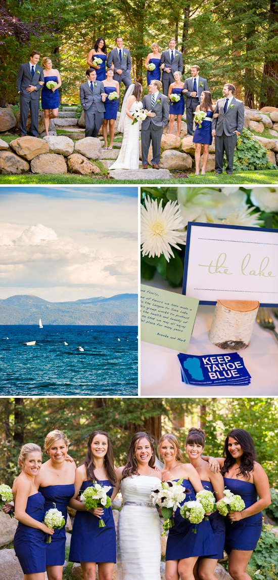 Lake Tahoe wedding photography at Gar Woods