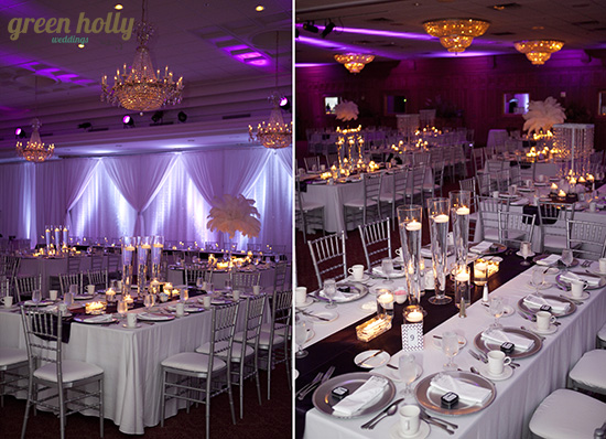 Classy Purple Wedding- Southeast Michigan Weddings