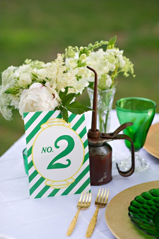 wizard of oz themed table number by paper & ink designs