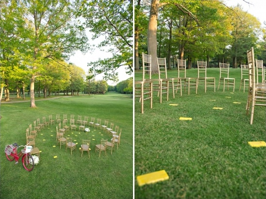 wizard of oz wedding set up
