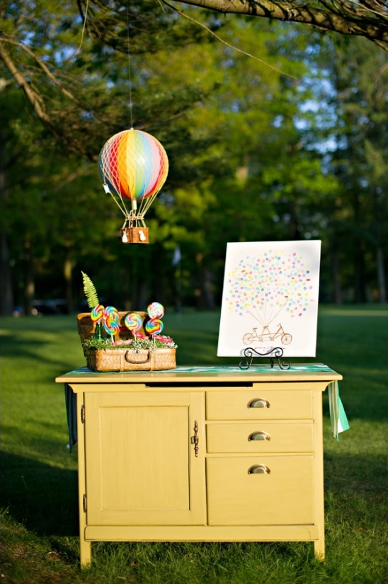 wizard of oz themed guestbook ideas