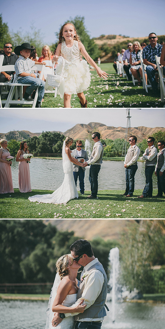 ollis ranch outdoor wedding ceremony