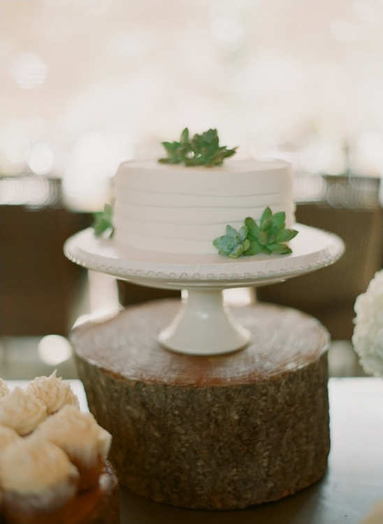 small wedding cake by blue ridge bakery